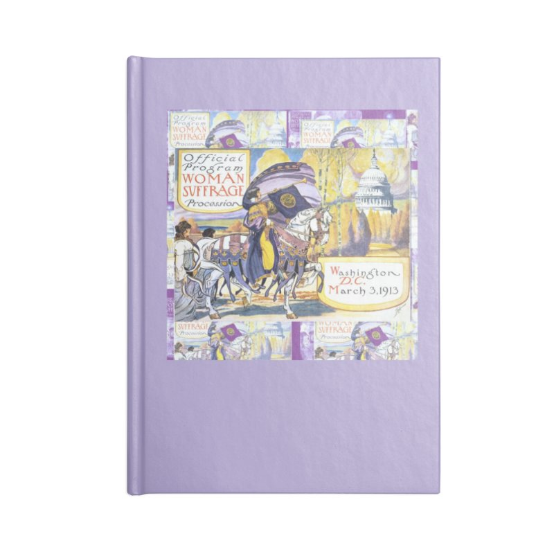1913 Women's March On Washington - Votes For Women Accessories Notebook by Maryheartworks's Artist Shop