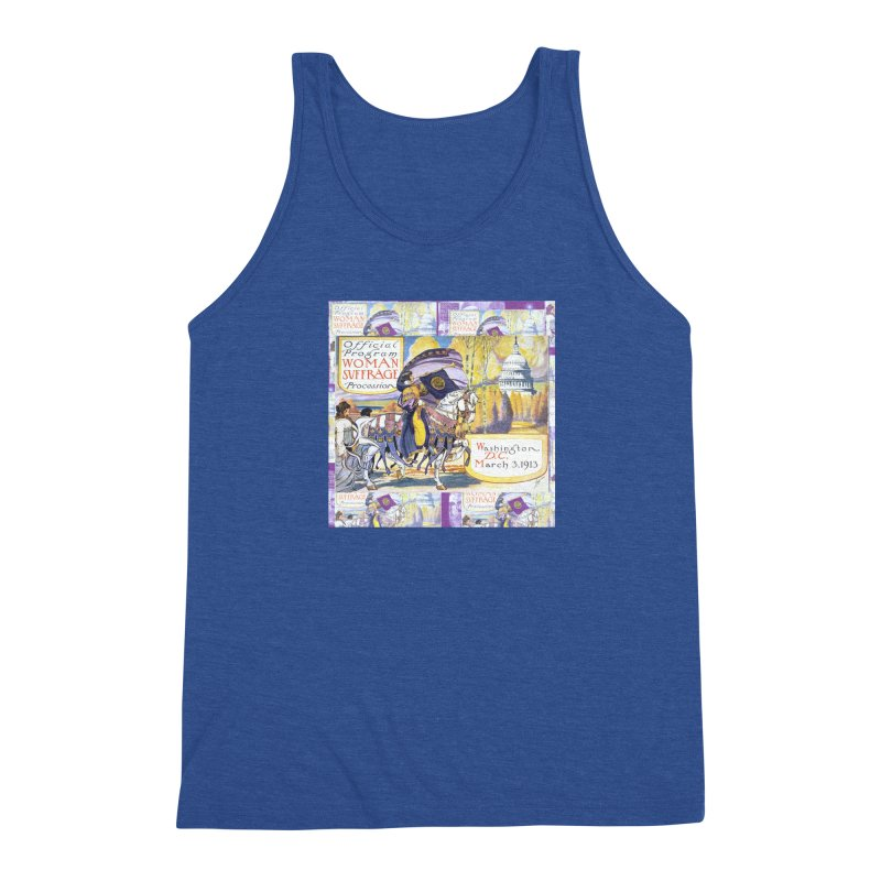 1913 Women's March On Washington - Votes For Women Men's Tank by Maryheartworks's Artist Shop