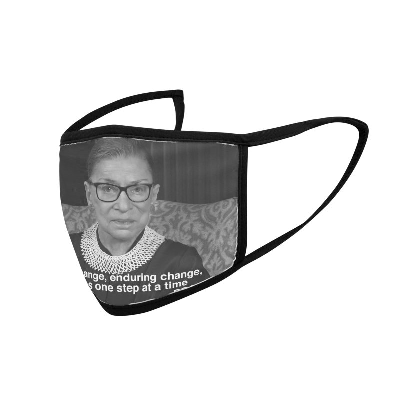 Honoring Ruth Bader Ginsburg Accessories Face Mask by Maryheartworks's Artist Shop