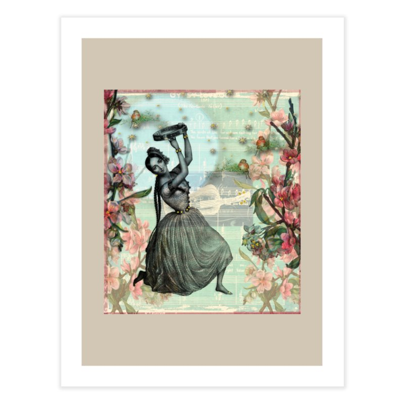 Gypsy Love Song Home Fine Art Print by Maryheartworks's Artist Shop