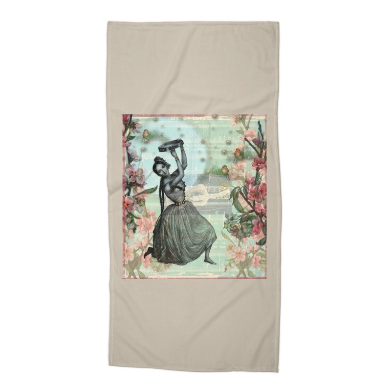 Gypsy Love Song Accessories Beach Towel by Maryheartworks's Artist Shop