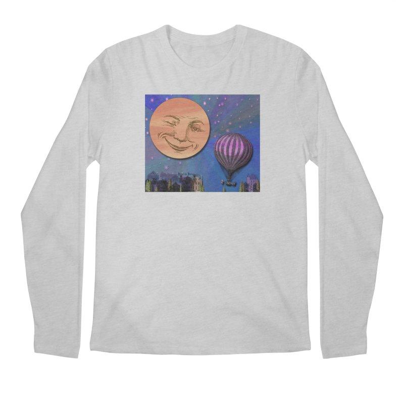 Flight To Paris Men's Regular Longsleeve T-Shirt by Maryheartworks's Artist Shop