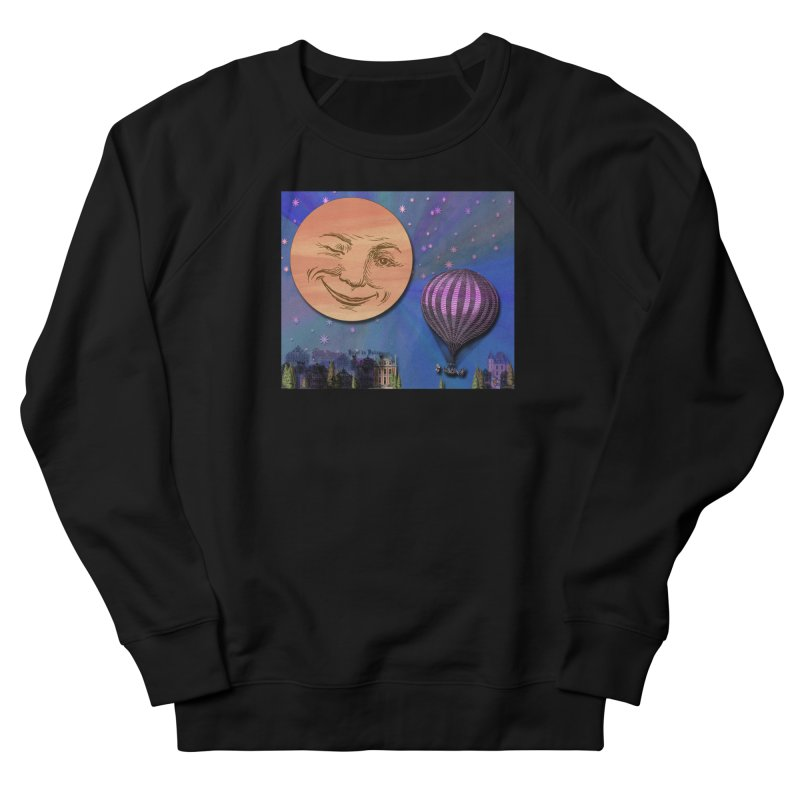 Flight To Paris Men's French Terry Sweatshirt by Maryheartworks's Artist Shop