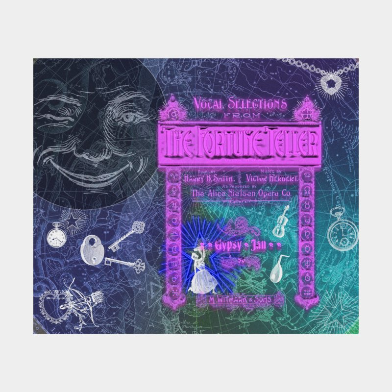 The Fortune Teller Home Blanket by Maryheartworks's Artist Shop