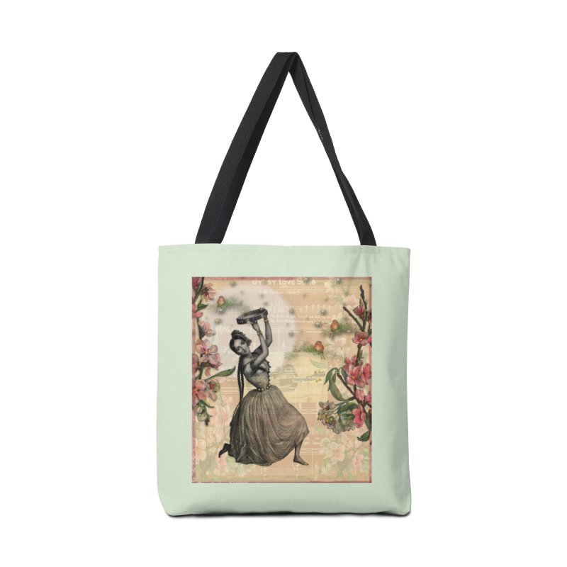 Gypsy Love Song Accessories Tote Bag Bag by Maryheartworks's Artist Shop