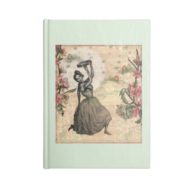 Gypsy Love Song Accessories Blank Journal Notebook by Maryheartworks's Artist Shop
