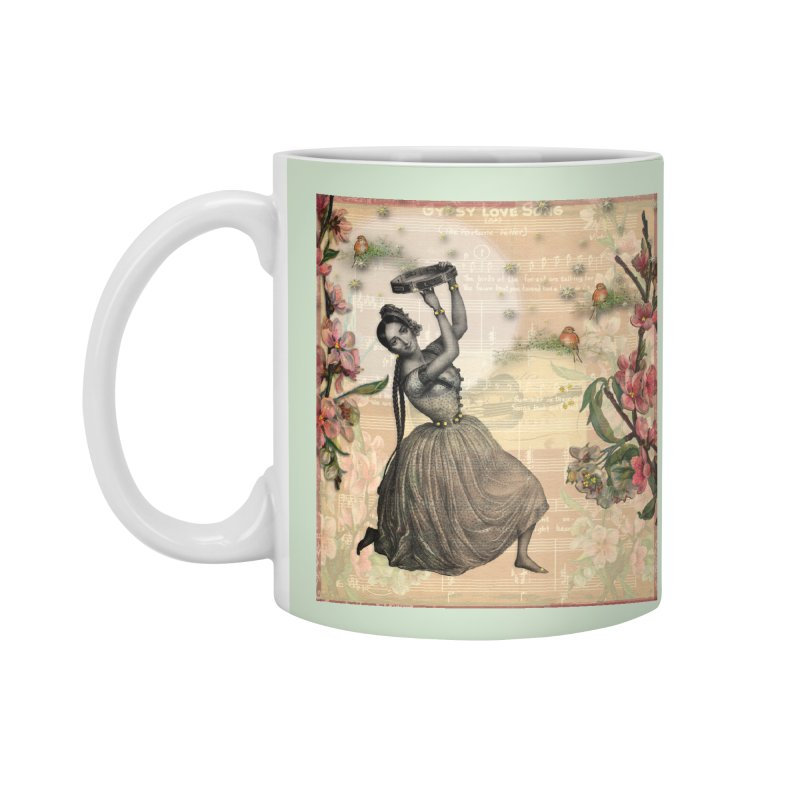 Gypsy Love Song Accessories Standard Mug by Maryheartworks's Artist Shop