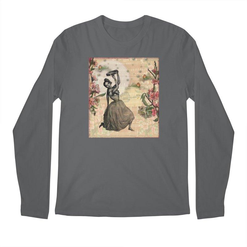 Gypsy Love Song Men's Regular Longsleeve T-Shirt by Maryheartworks's Artist Shop