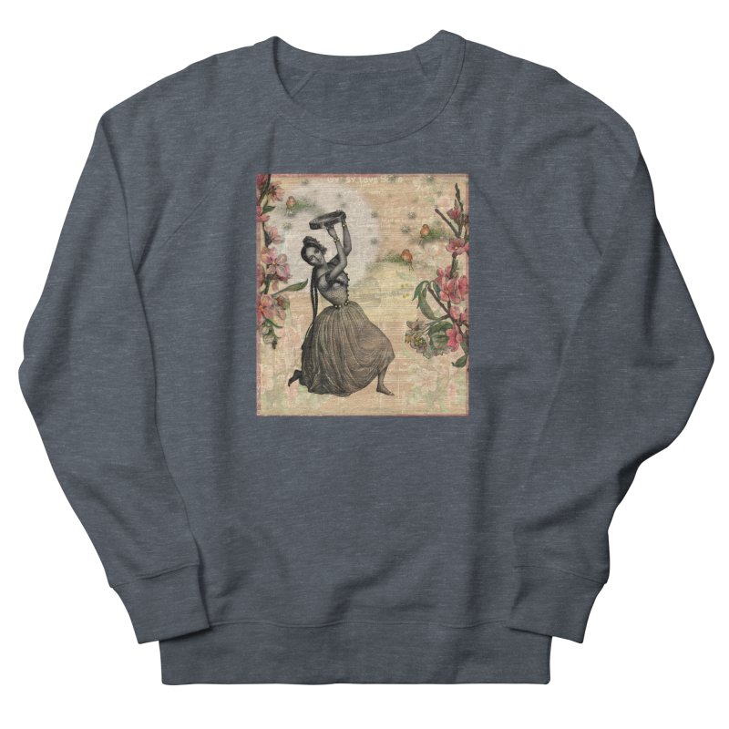 Gypsy Love Song Men's French Terry Sweatshirt by Maryheartworks's Artist Shop