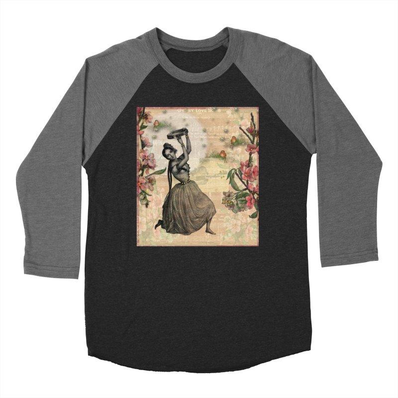 Gypsy Love Song Women's Baseball Triblend Longsleeve T-Shirt by Maryheartworks's Artist Shop