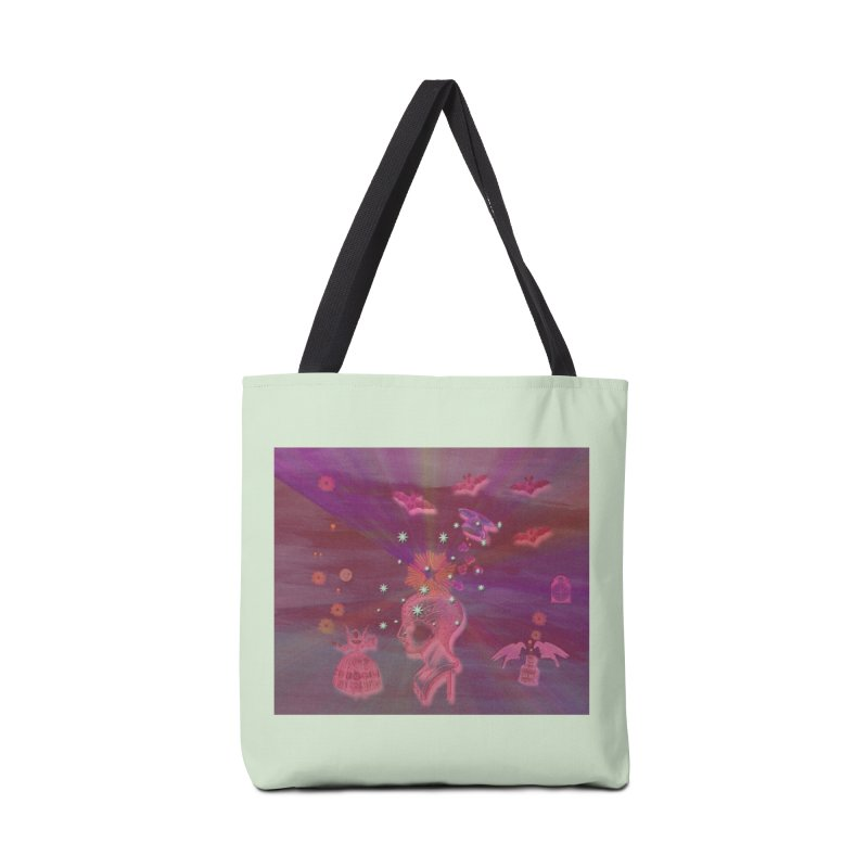 Before The Halloween Ball Accessories Tote Bag Bag by Maryheartworks's Artist Shop