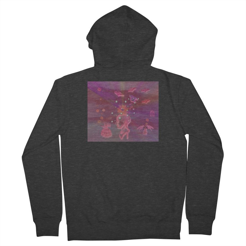 Before The Halloween Ball Women's French Terry Zip-Up Hoody by Maryheartworks's Artist Shop