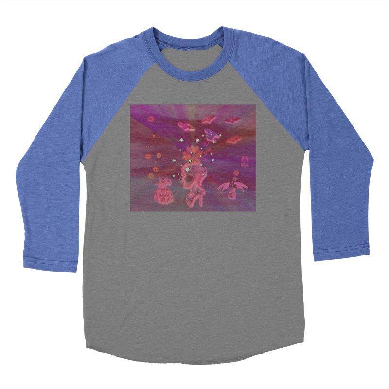 Before The Halloween Ball Women's Baseball Triblend Longsleeve T-Shirt by Maryheartworks's Artist Shop