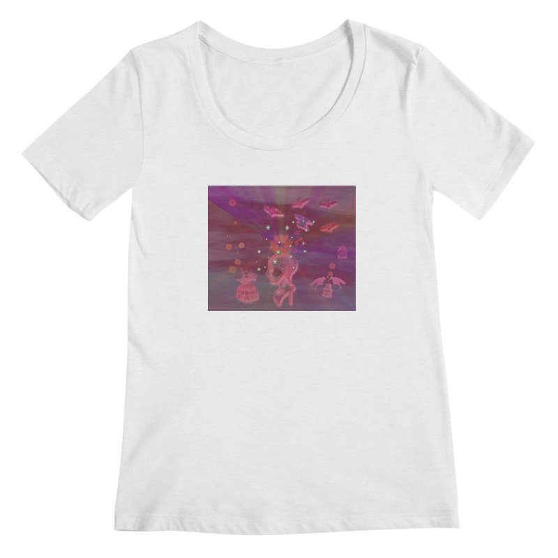 Before The Halloween Ball Women's Regular Scoop Neck by Maryheartworks's Artist Shop