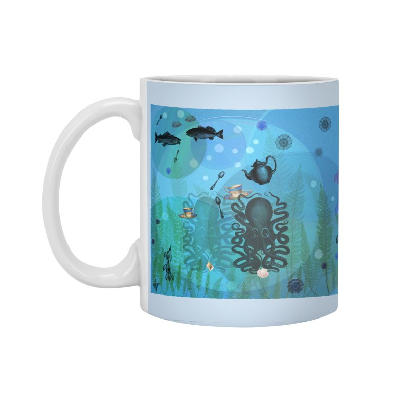 Under The Sea In Time For Tea Accessories Standard Mug by Maryheartworks's Artist Shop