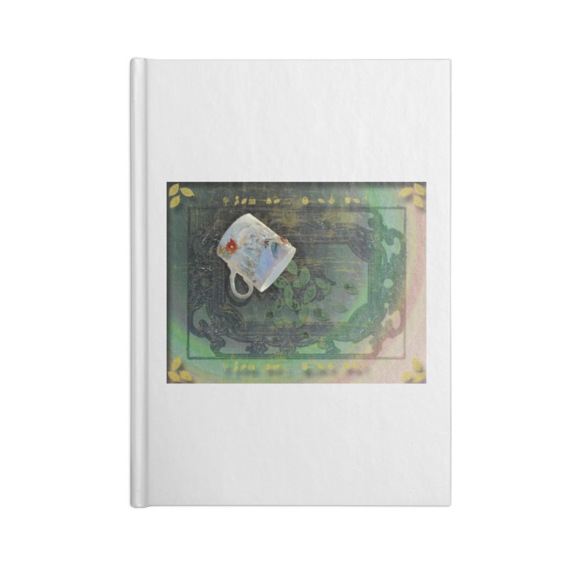 Tea Leaves Reading Accessories Blank Journal Notebook by Maryheartworks's Artist Shop