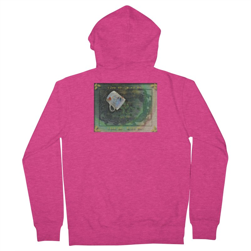 Tea Leaves Reading Women's French Terry Zip-Up Hoody by Maryheartworks's Artist Shop
