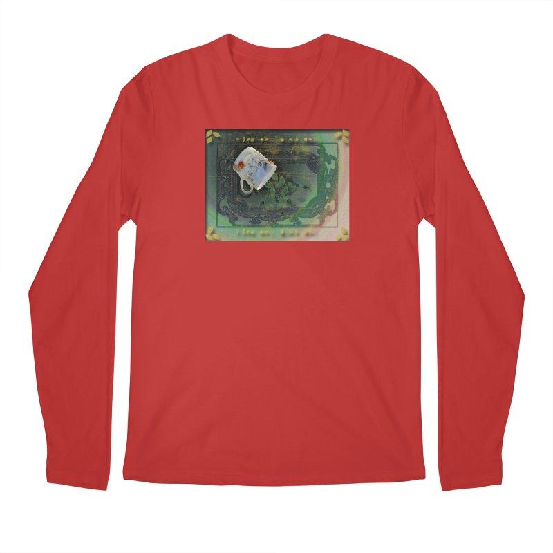 Tea Leaves Reading Men's Regular Longsleeve T-Shirt by Maryheartworks's Artist Shop
