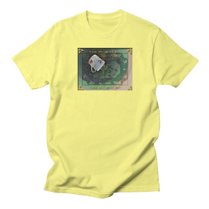 Tea Leaves Reading Men's Regular T-Shirt by Maryheartworks's Artist Shop