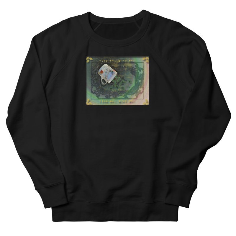 Tea Leaves Reading Men's French Terry Sweatshirt by Maryheartworks's Artist Shop
