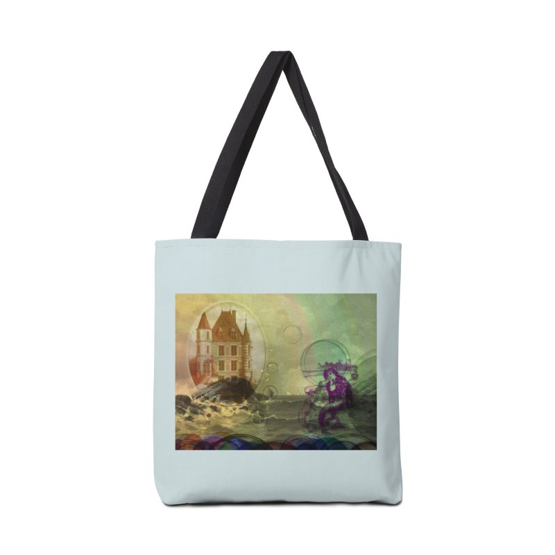 Mermaid's Dream Accessories Tote Bag Bag by Maryheartworks's Artist Shop