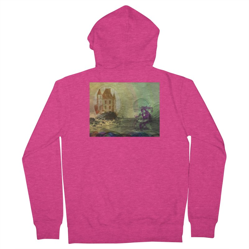 Mermaid's Dream Women's French Terry Zip-Up Hoody by Maryheartworks's Artist Shop