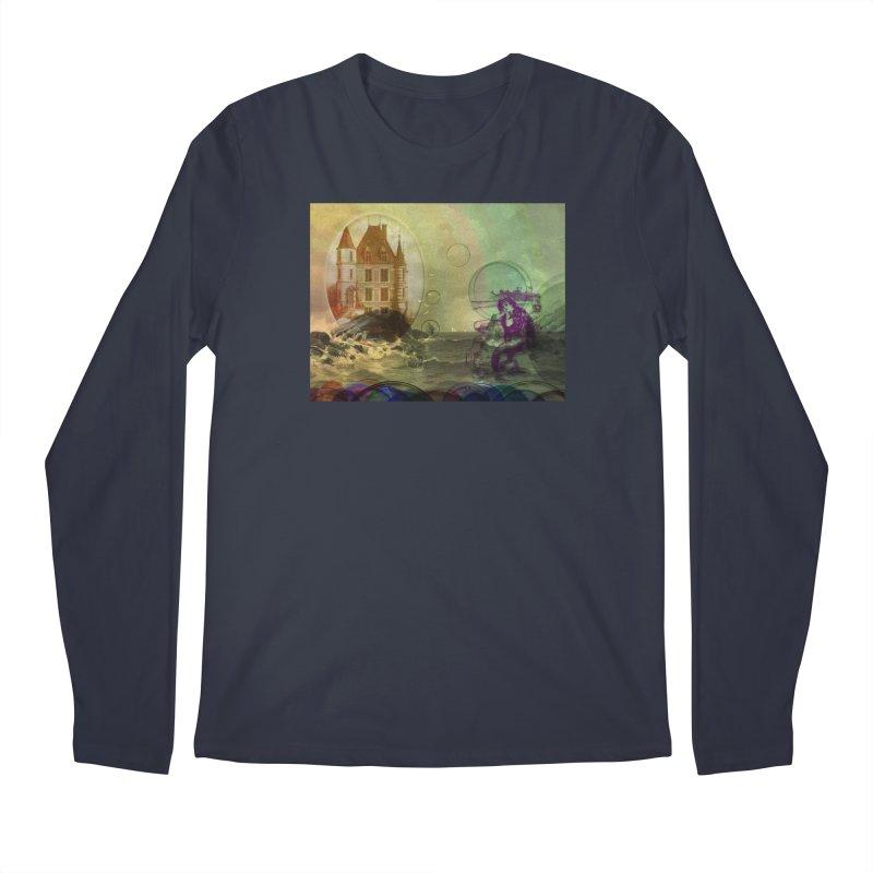 Mermaid's Dream Men's Regular Longsleeve T-Shirt by Maryheartworks's Artist Shop