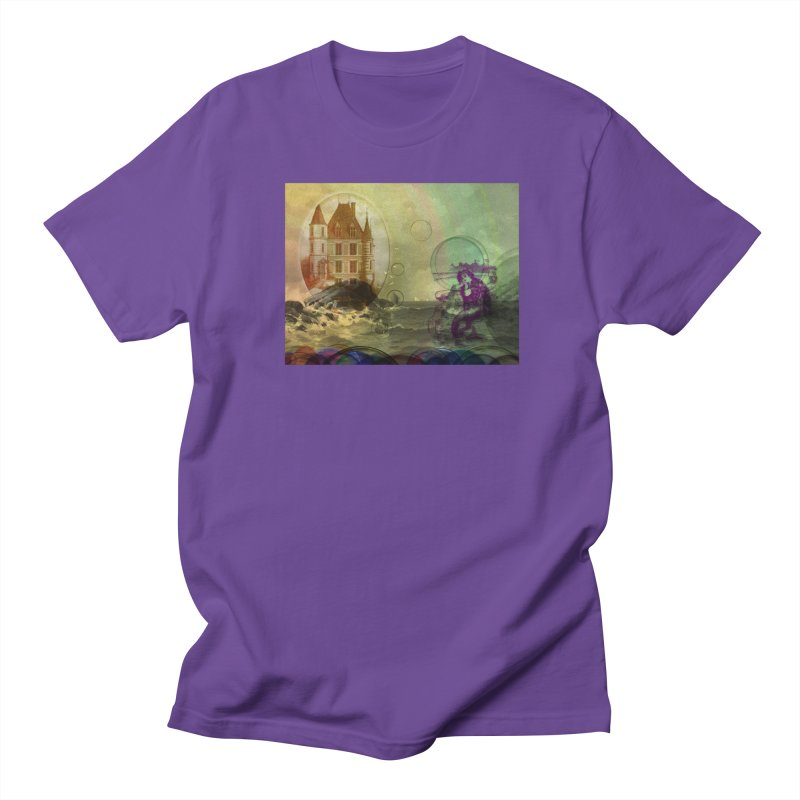 Mermaid's Dream Men's Regular T-Shirt by Maryheartworks's Artist Shop