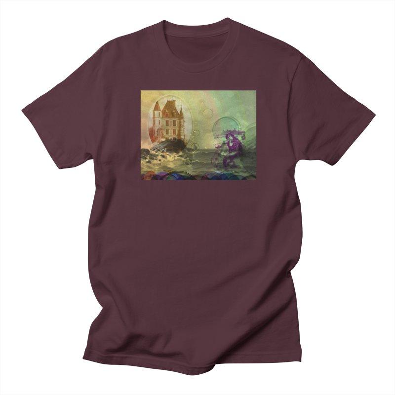 Mermaid's Dream Women's Regular Unisex T-Shirt by Maryheartworks's Artist Shop
