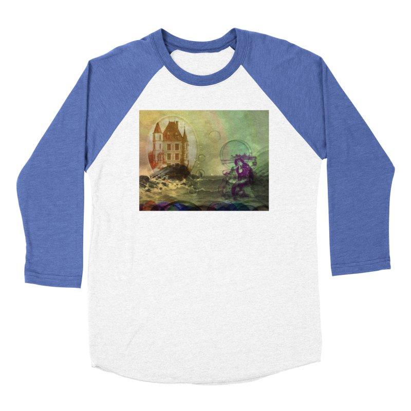 Mermaid's Dream Women's Baseball Triblend Longsleeve T-Shirt by Maryheartworks's Artist Shop
