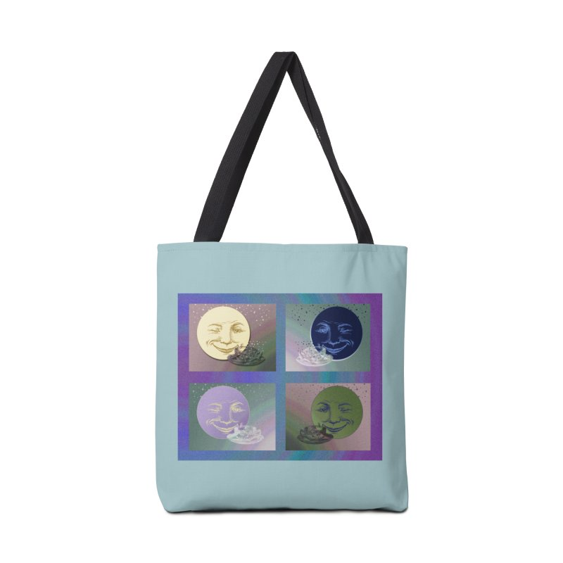 The Moon And I Accessories Tote Bag Bag by Maryheartworks's Artist Shop