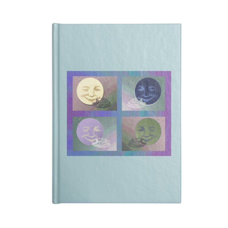 The Moon And I Accessories Blank Journal Notebook by Maryheartworks's Artist Shop