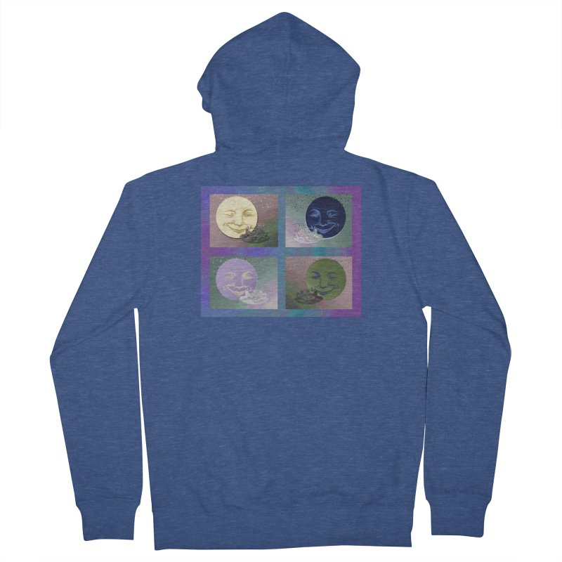 The Moon And I Women's French Terry Zip-Up Hoody by Maryheartworks's Artist Shop