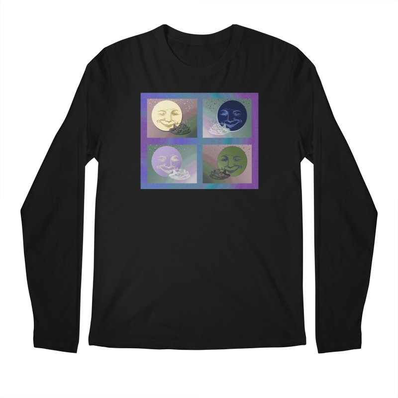 The Moon And I Men's Regular Longsleeve T-Shirt by Maryheartworks's Artist Shop