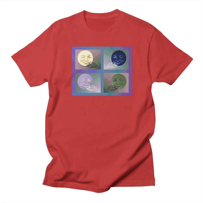The Moon And I Men's Regular T-Shirt by Maryheartworks's Artist Shop
