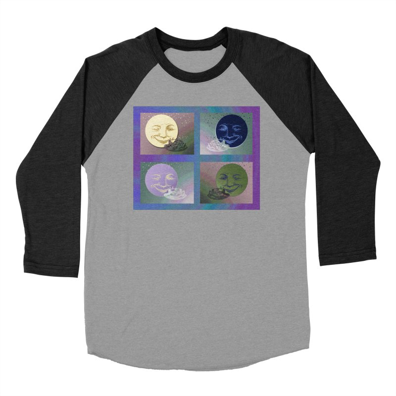 The Moon And I Women's Baseball Triblend Longsleeve T-Shirt by Maryheartworks's Artist Shop