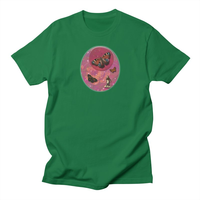 Butterfly Circus - Tent #3 Women's Regular Unisex T-Shirt by Maryheartworks's Artist Shop