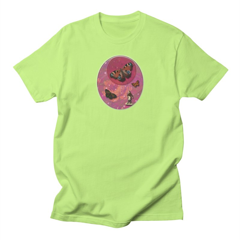 Butterfly Circus - Tent #3 Men's Regular T-Shirt by Maryheartworks's Artist Shop