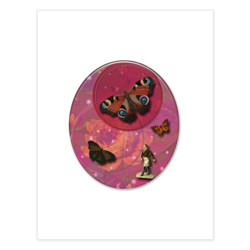 Butterfly Circus - Tent #3 Home Bath Mat by Maryheartworks's Artist Shop