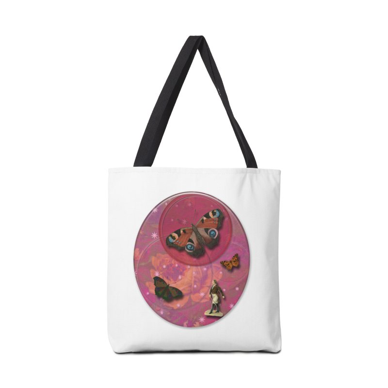 Butterfly Circus - Tent #3 Accessories Tote Bag Bag by Maryheartworks's Artist Shop
