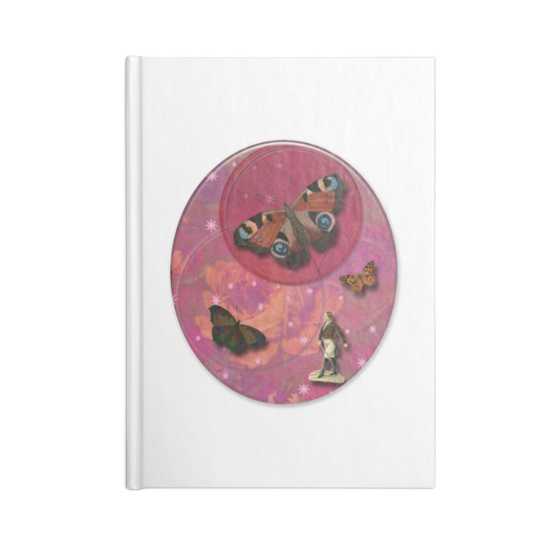 Butterfly Circus - Tent #3 Accessories Blank Journal Notebook by Maryheartworks's Artist Shop