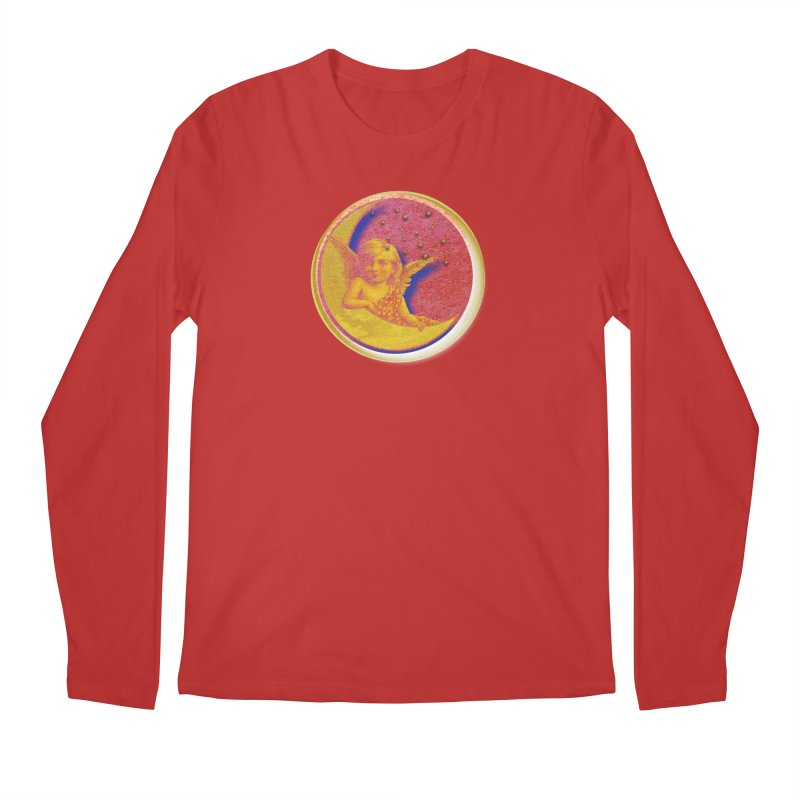 Angel Wings And Rings Men's Regular Longsleeve T-Shirt by Maryheartworks's Artist Shop