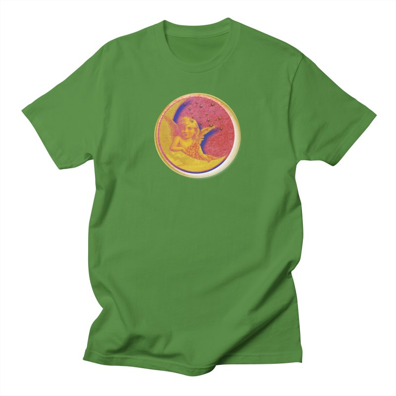 Angel Wings And Rings Men's Regular T-Shirt by Maryheartworks's Artist Shop