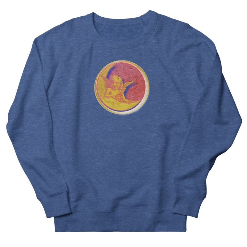 Angel Wings And Rings Men's French Terry Sweatshirt by Maryheartworks's Artist Shop