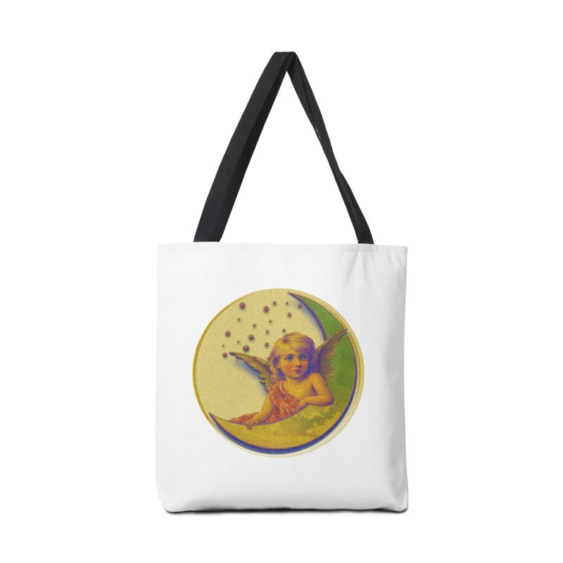 Angel Wings And Rings 2 Accessories Tote Bag Bag by Maryheartworks's Artist Shop
