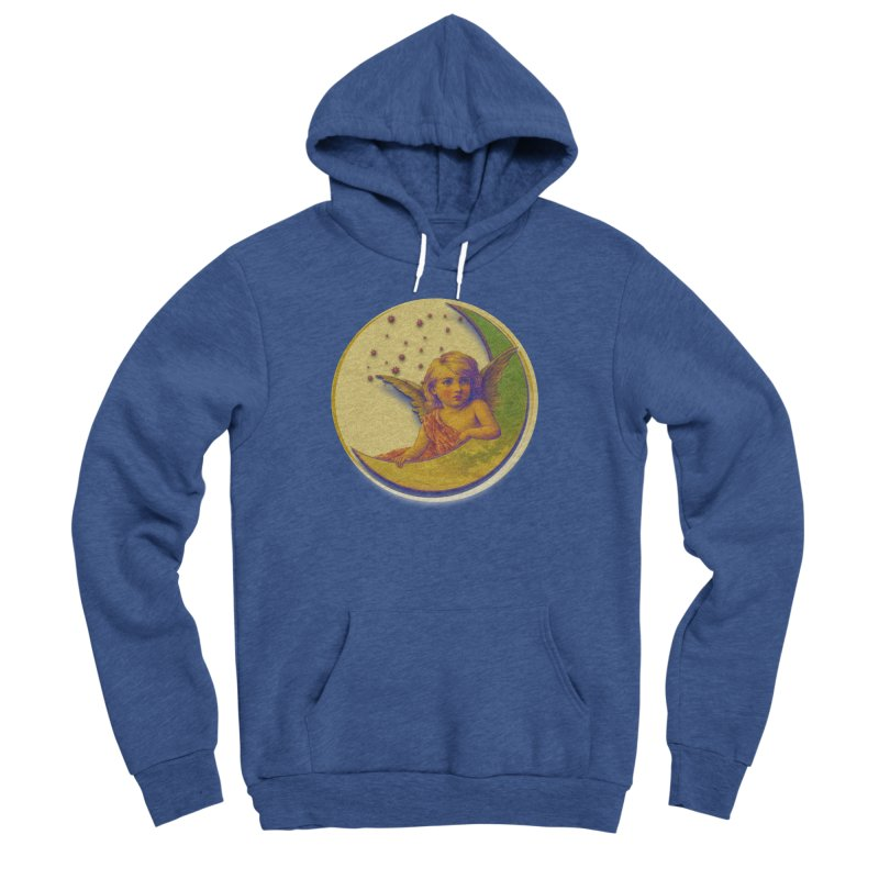 Angel Wings And Rings 2 Men's Sponge Fleece Pullover Hoody by Maryheartworks's Artist Shop
