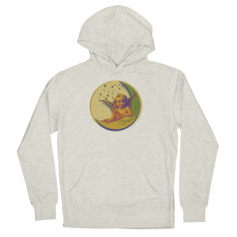 Angel Wings And Rings 2 Women's French Terry Pullover Hoody by Maryheartworks's Artist Shop