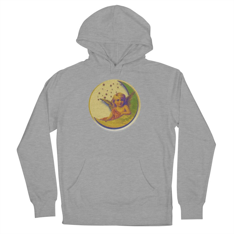 Angel Wings And Rings 2 Men's French Terry Pullover Hoody by Maryheartworks's Artist Shop