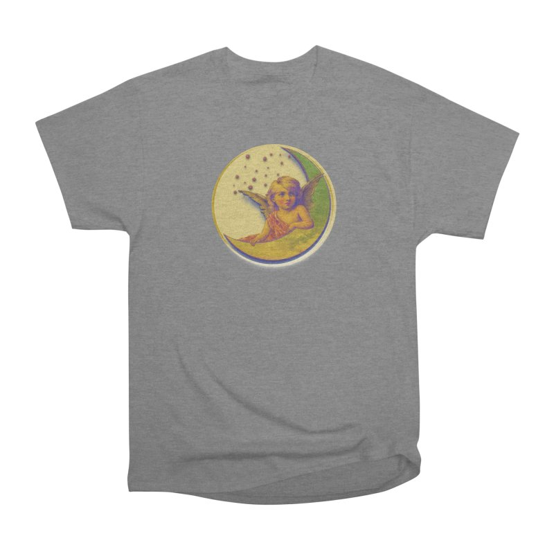 Angel Wings And Rings 2 Men's Heavyweight T-Shirt by Maryheartworks's Artist Shop