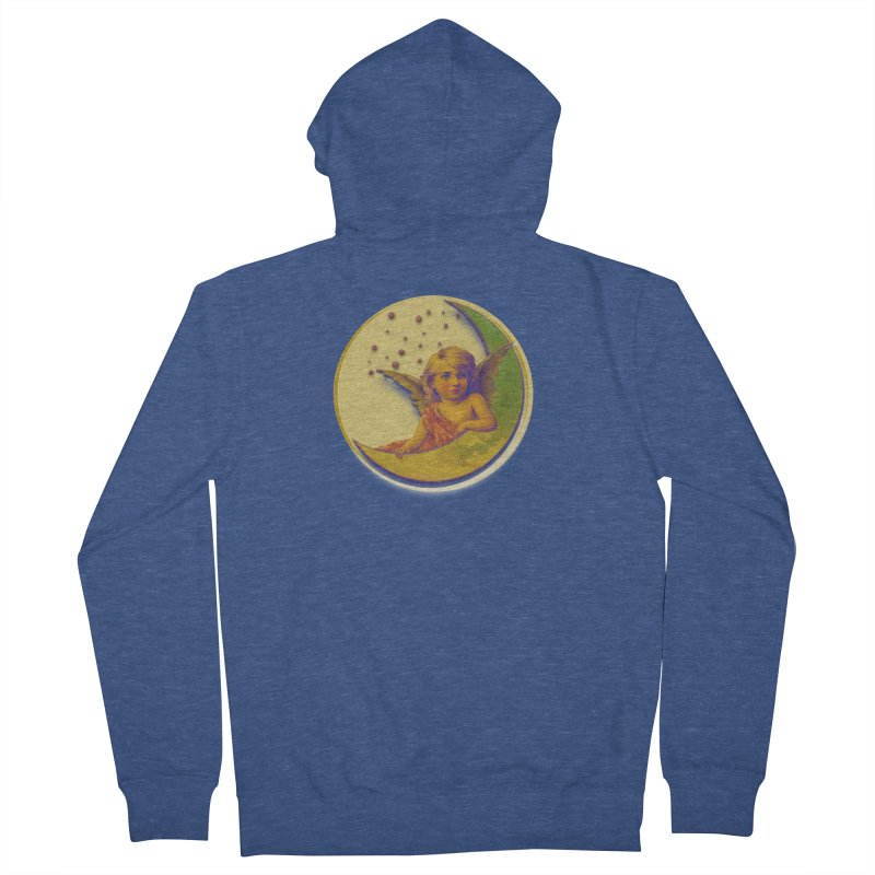 Angel Wings And Rings 2 Women's French Terry Zip-Up Hoody by Maryheartworks's Artist Shop
